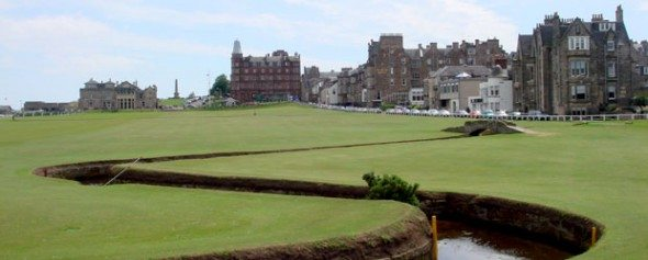 The Old Course at Saint Andrews