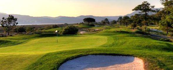 Portugal Golf Courses - Troia Golf Course - 3rd hole